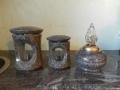 Kamnite lučke in vaze